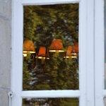 L'Ermitage, la salle à manger...