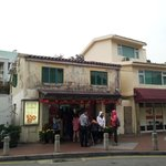 The sought after lord stow's bakery. They sell sandwiches, salad but the egg tarts are a MUST