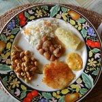 wonderful tradional Ecuadorian meal