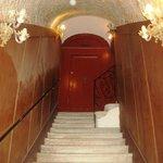 Staircase to Rimpeto Mocenigo annexe