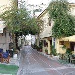 Stradine di Atene