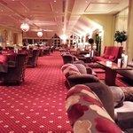 Hotel's lobby.