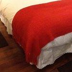 Sábanas de puntillas, almohadas y ededrón de plumas
