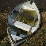 A small rowboat we came across