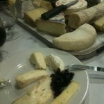 The fantastic Le Berry cheeseboard