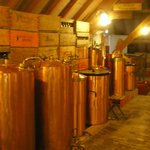 inside brewery