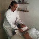 Masaje Quiropractico, Alineacion de Columna