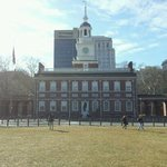 Independence Hall in February