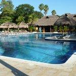 piscine à l'hôtel