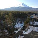 Mount Fuji from the window