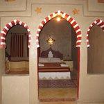 Une des jolies chambres de la Kasbah !