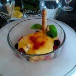 Winter Berry Creme Brulee