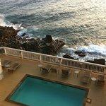 view from lanai/condo pool
