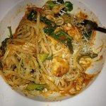 linguine scotte con pollo spinaci e zucchine