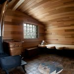 Cedar sauna house and self-spa
