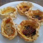 Special EMPANADAS, with cheese, spices, condiments, dry fuit... and more!