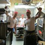 Chefs in the kitchen!!!