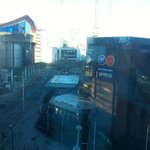 view from double room 509