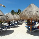 Main beach at hotel