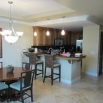 Dining area and full kitchen with all amenities