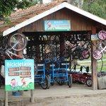Aluguel de bicicletas e pedalinhos