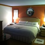 Bed area, suite