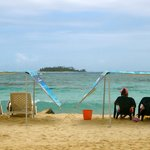 la plage public de San andres