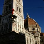 The Duomo is right around the corner, as well as many shops and restaurants