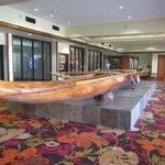 canoe in hotel