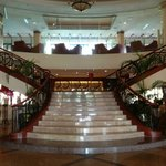 The grand staircase at the lobby.