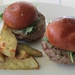 Grass fed beef sliders
