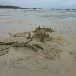 The beach ::: amazing sand for castle building!
