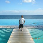 at the Infinity Pool