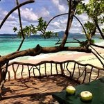 nice spot to have your coconut juice..