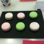 Sparkle cupcakes Macarons