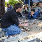 Faire du feu préhistorique Tautavel