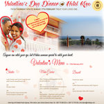 Please come to Hotel Kigo and celebrate Valentine's Day with your Special One