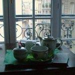 Zimmerservice: Kaffee zum Frühstück