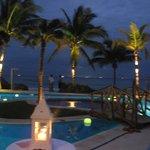 Wedding night pool