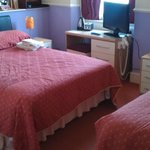 twin rooms double bed and single bed