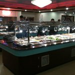 The Buffet is always clean and well lit