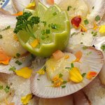 Scallops with lime!