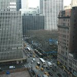 Exciting fashion week...the view from our room