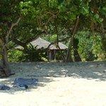 chambre vue de la plage