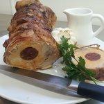 Pork Loin special stuffed with Chorizo