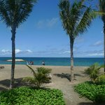 hotel access beach