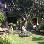 Garden and first floor rooms...