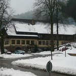 Ochsenwirtshof in the snow