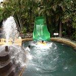 Splashing in