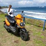Atlantic Ocean side of St. Kitts